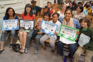 Green Schools Initiative with Oxford at School Board meeting