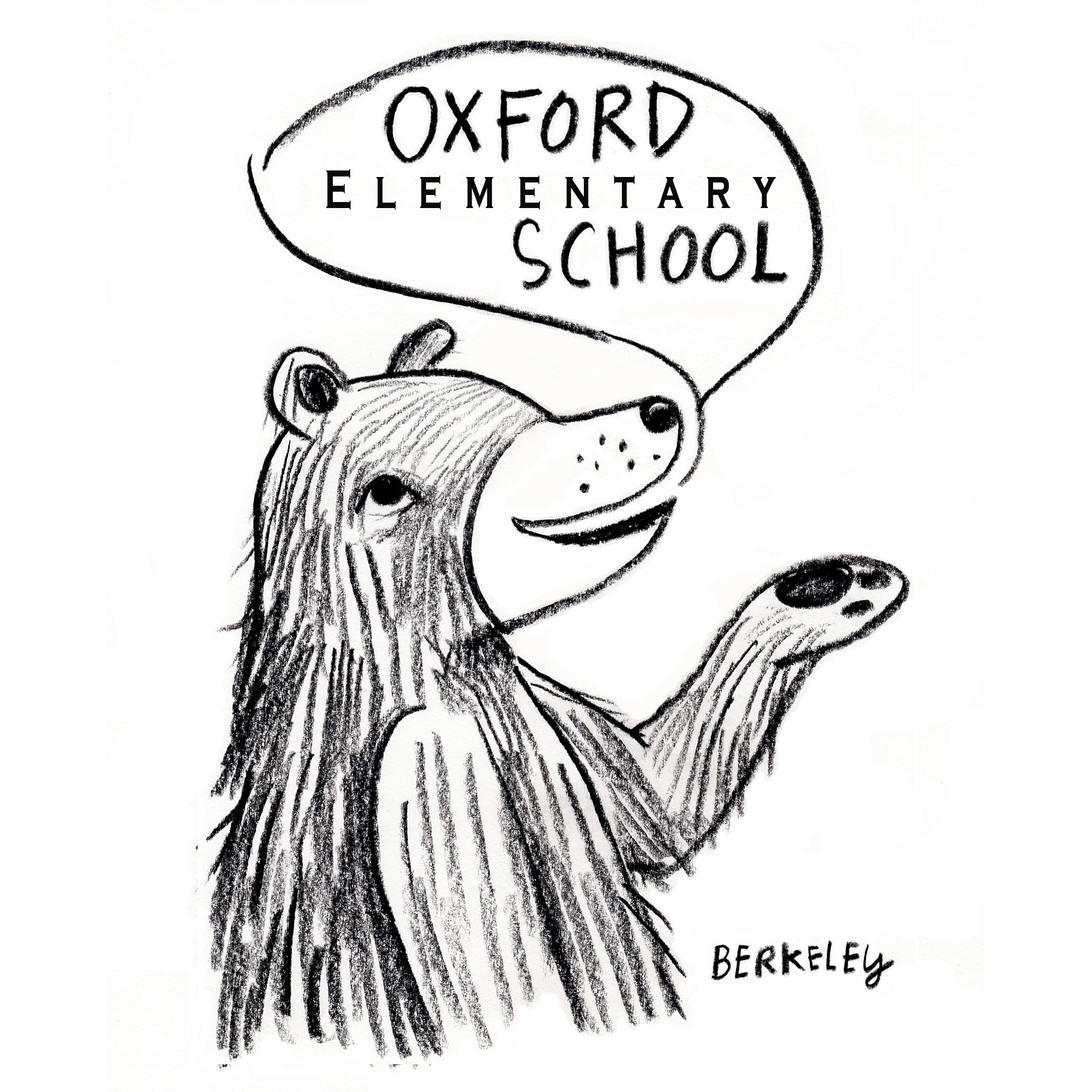 Oxford bear logo