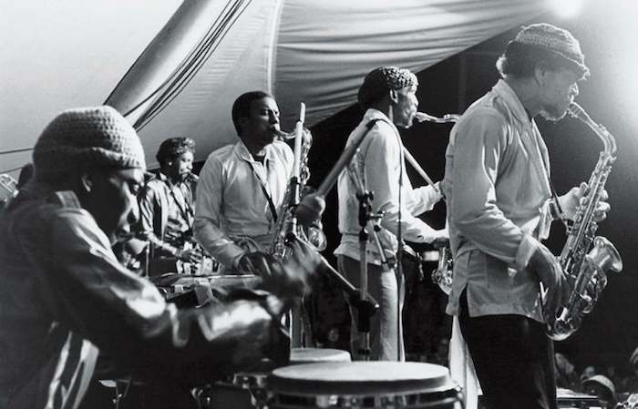 Hutch Jones with Sun Ra Arkestra at Monterey Jazz Festival