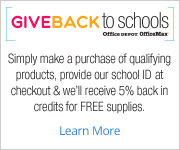 Office Max/Depot 5% program
