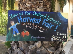 Join us for the Harvest Fair 10/23
