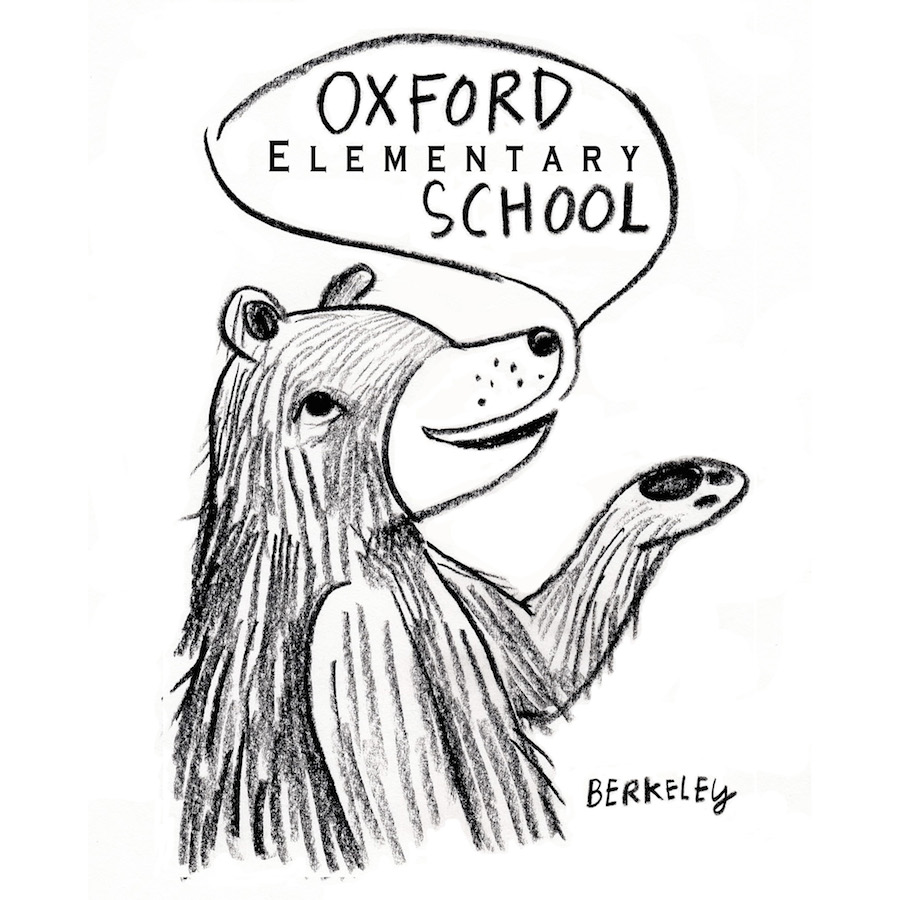 oxford logo by Sarah Klise