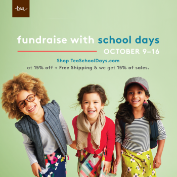 Tea School Days - Shop & Give
